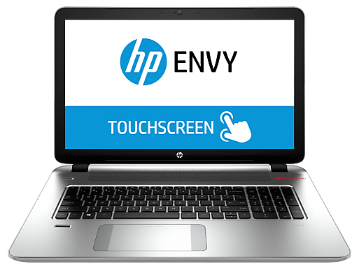 "HP ENVY 17t Touch 17.3"" Intel Quad Core i7 Touchscreen Laptop"