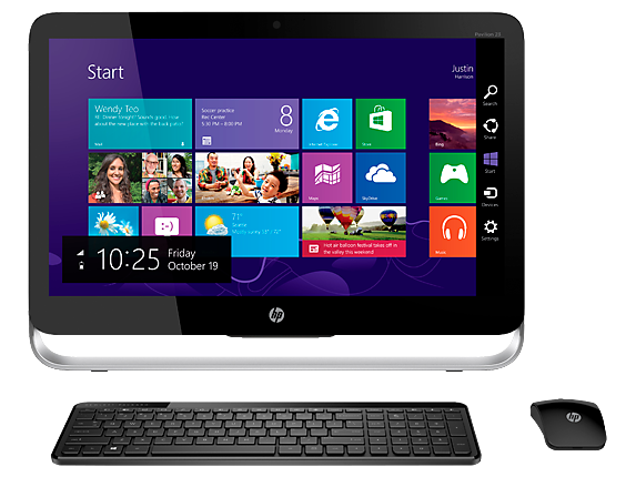 """HP Pavilion 23z Touch 23"""" Touchscreen All-in-One Desktop"""