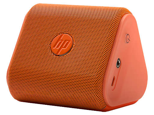 HP Roar Mini Orange Wireless Speakers