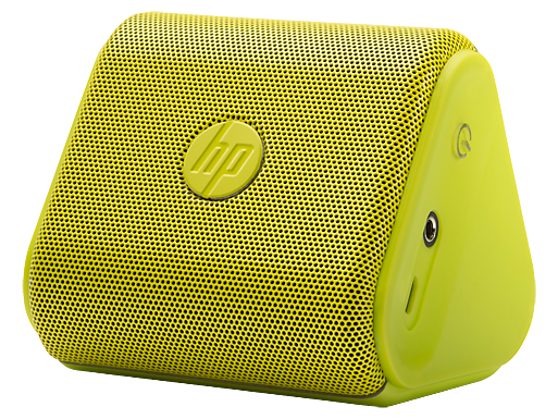 HP Roar Mini Neon Green Wireless Speaker