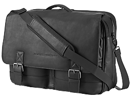 HP 14 Executive Leather Messenger
