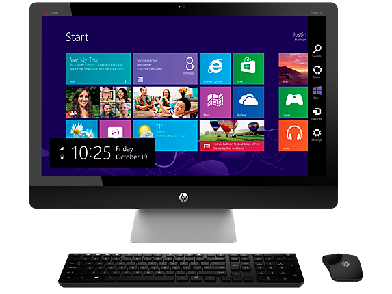 "HP ENVY Recline 27xt Touch 27"" Core i5 All-in-One Desktop"