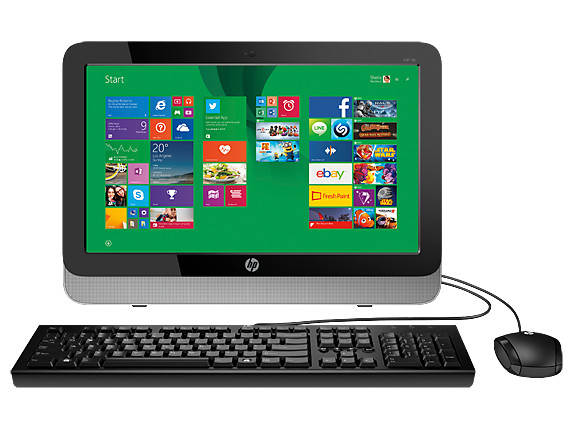"""HP Essential Home 18-5110 18.5"""" All-in-One Desktop"""