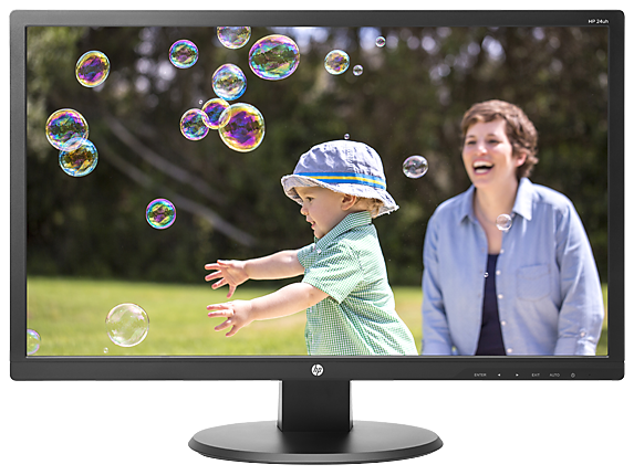 HP 24uh 24-inch LED Backlit Monitor