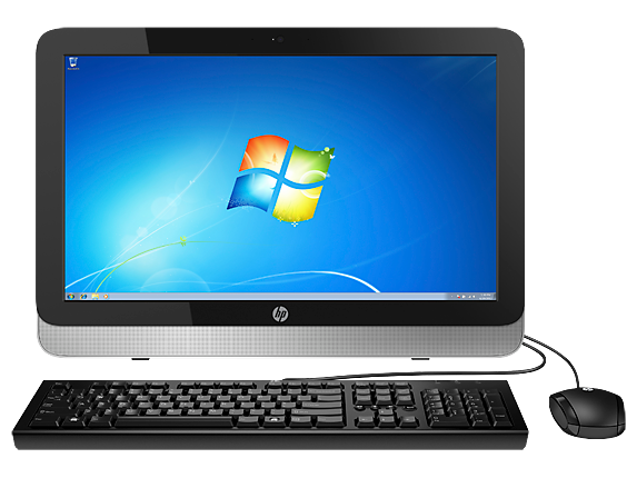 "HP Essential Home 21t Win 7 21.5"" Intel Quad Core i5 Touchscreen All-in-One Desktop"