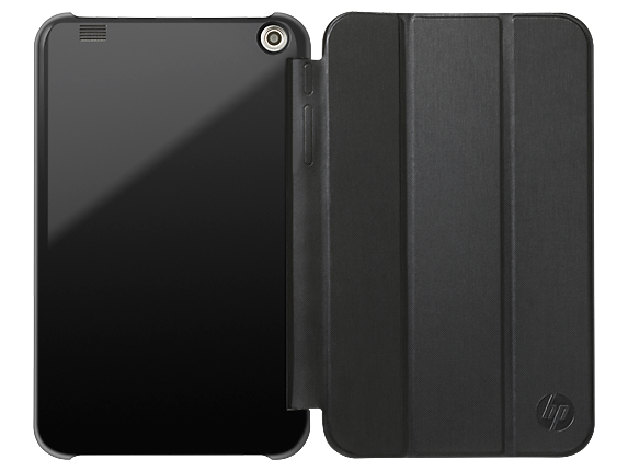 HP 7 Plus II Black Tablet Case