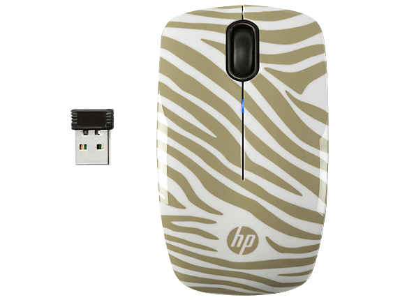 HP Z3200 Zebra Wireless Mouse