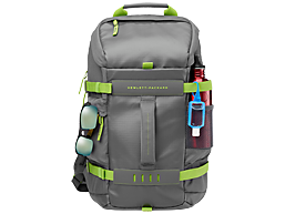 HP 15.6 in Green/Gray Odyssey Backpack