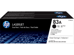 HP 83A 2-pack Black Original LaserJet Toner Cartridges