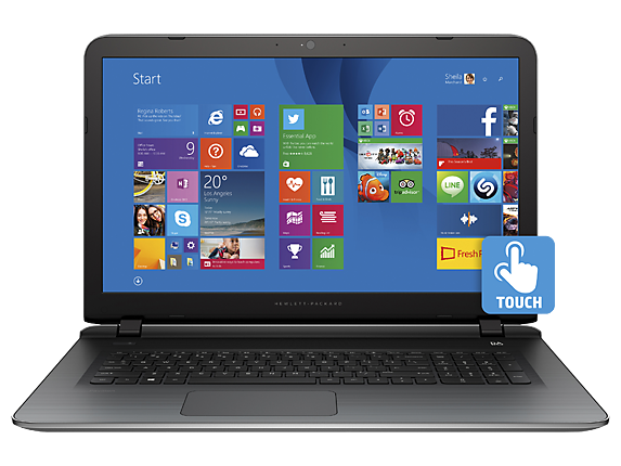 "Pavilion 17t 17.3"" Intel Core i7 Touchscreen Laptop"