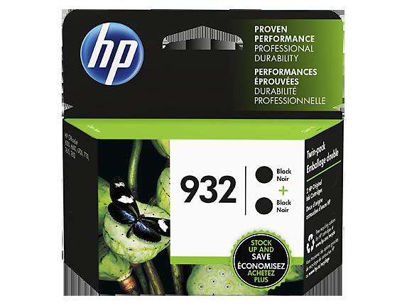 HP 932 2-pack Black Original Ink Cartridges