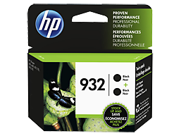 HP 932 2-pack Black Original Ink Cartridges