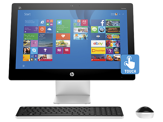 "HP Pavilion 22xt Touch 22"" Intel Quad Core i7 Touchscreen All-in-One Desktop"