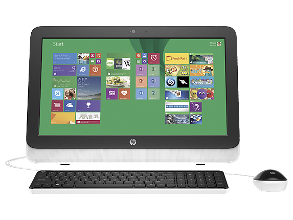 "HP Essential Home 20zw 20"" All-in-One Desktop"