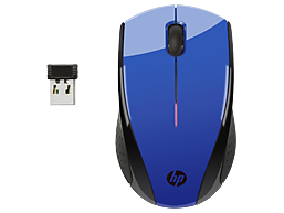 HP X3000 Cobalt Blue Wireless Mouse