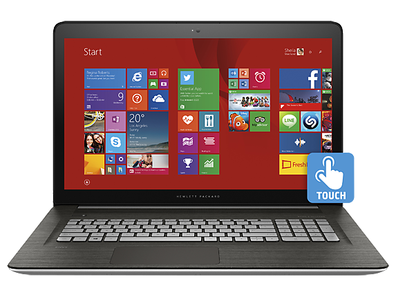 "ENVY 17t Touch 17.3"" Intel Core i7 Touchscreen Laptop"