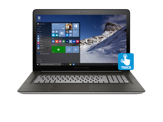 "ENVY 17t Touch 17.3"" Intel Core i7 6G Touchscreen Laptop"