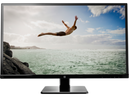 HP 27sv 27-inch LED Backlit Monitor