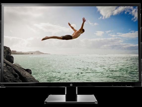 HP 27sv 27-inch LED Backlit Monitor