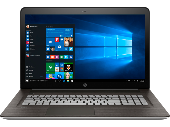 "ENVY 17t Laptop 17.3"" FHD Intel Core i7 6G Laptop"