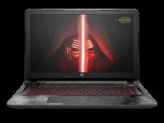 Special Edition Star Wars HP laptop. Kylo Ren wallpaper.