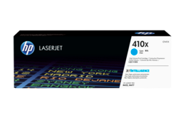 HP 410X High Yield Cyan Original LaserJet Toner Cartridge, CF411X