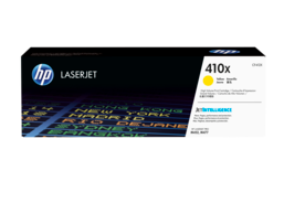 HP 410X High Yield Yellow Original LaserJet Toner Cartridge, CF412X
