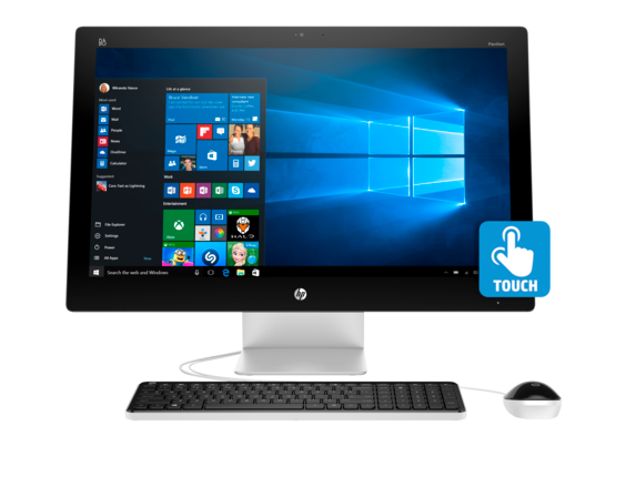 HP Pavilion 27-n110 Touch 27