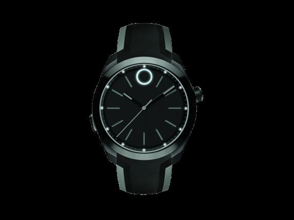 Movado Bold Motion Black/Silicone Strap Smartwatch