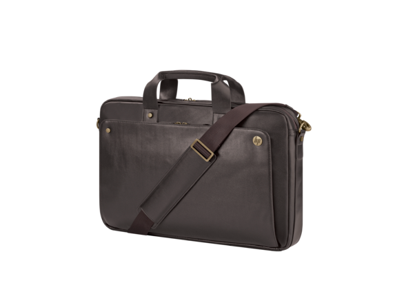HP 17.3 Executive Brown Leather Top Load