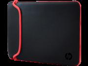 HP 15.6 Black/Red Neoprene Sleeve