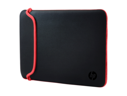 HP 15.6 Black/Red Neoprene Sleeve