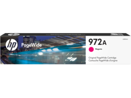 HP 972A Magenta Original PageWide Cartridge