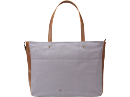HP 15.6 Gray Women Canvas Tote