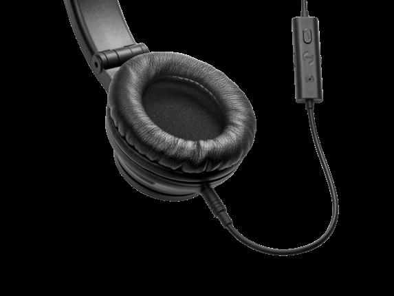 HP H3100 Black Wired Headphone