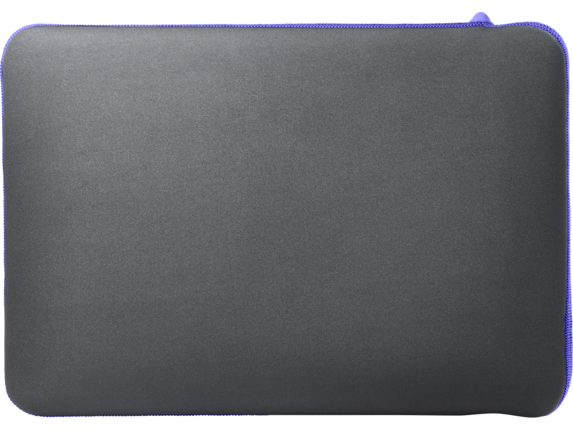 HP 15.6 Gray/Purple Neoprene Sleeve