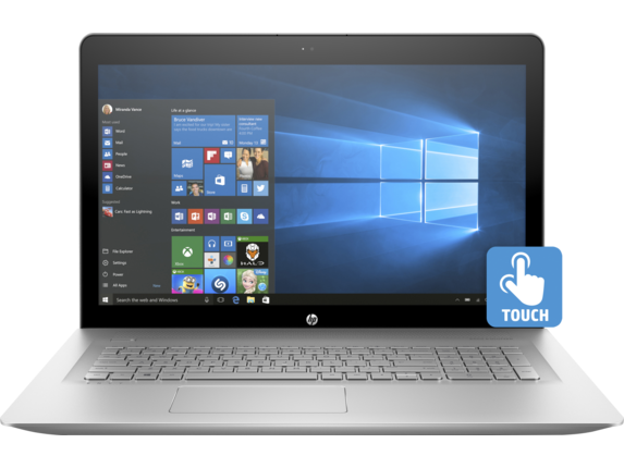 "HP ENVY 17t Best Value 17.3"" FHD Core i7 Touchscreen Laptop"