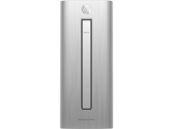 HP ENVY 750-414 Desktop with Intel Quad Core i5-6400 / 12GB / 1TB HDD & 128GB SSD / Win 10 (Natural silver )