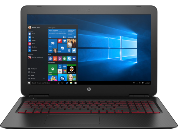 "HP OMEN 15t 15.6"" FHD Intel Quad Core i7 Laptop"