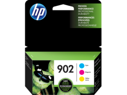 HP 902 3-pack Cyan/Magenta/Yellow Original Ink Cartridges