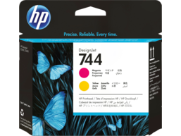 HP 744 Magenta/Yellow DesignJet Printhead