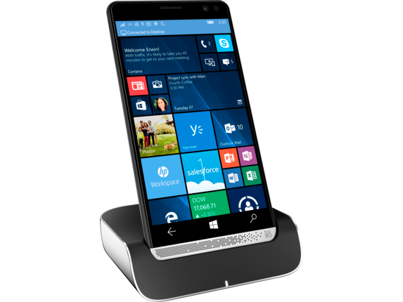 HP Elite x3 and HP Elite x3 Desk Dock