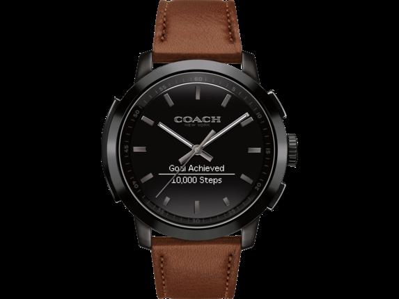 Coach Bleecker Smart Watch - Saddle Strap