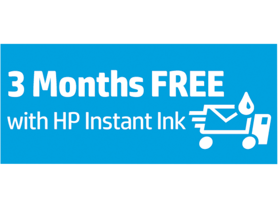 HP Instant Ink Complimentary Card