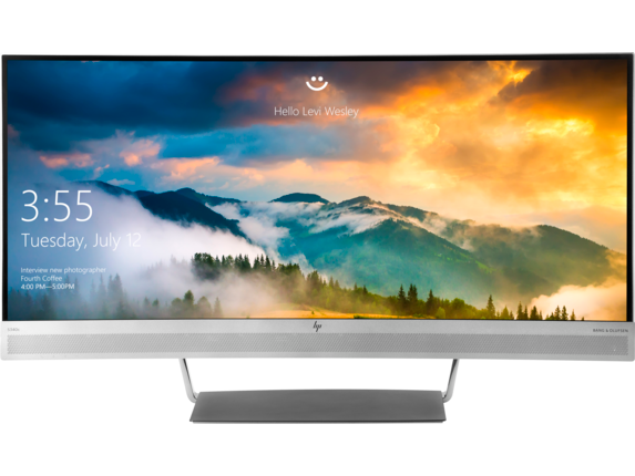 HP EliteDisplay S340c 34-inch Curved Monitor