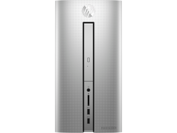 HP Pavilion 570-p045xt Desktop with Intel Core i5-7400 / 8GB / 1TB / Win 10 / 2GB Video