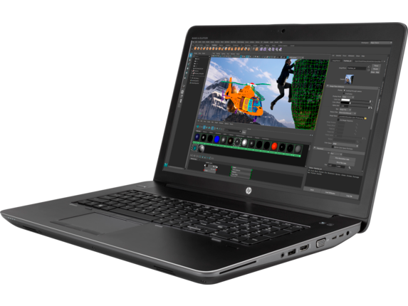 HP ZBook 17 G4 Workstation - Quadro P4000 for Virtual Reality