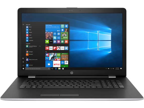 "HP 17-ak051nr 17.3"" HD+ AMD Dual Core Laptop"