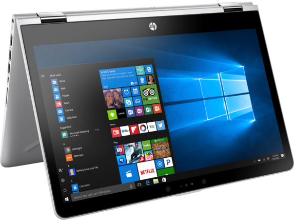 how to turn on touch screen on hp pavilion x360