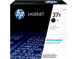 HP 37Y Extra High Yield Black Original LaserJet Toner Cartridge, CF237Y